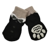 ZEEZ NON-SLIP PET SOCKS BLACK TUXEDO Medium (3 x 7.5cm) - Click for more info