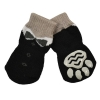 ZEEZ NON-SLIP PET SOCKS BLACK TUXEDO Xlarge (4 x 11cm) - Click for more info