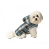 Alberta Quilted Parka Blue Plaid - L - 18-21inches - Click for more info