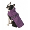 Madison Quilted Parka, Plum - XS - 7-9inches - Click for more info