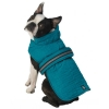 Madison Quilted Parka, Teal - XS - 7-9inches - Click for more info