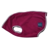 ZeeZ COZY FLEECE DOG VEST XX3 (63cm) Shiraz Red - Click for more info