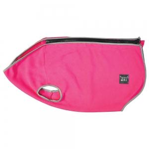 ZeeZ COZY FLEECE DOG VEST S1 (19cm) Ruby Pink - Click for more info