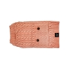 ZEEZ CABLE KNITTED SWEATER Medium 32cm - Musk Pink - Click for more info