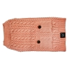 ZEEZ CABLE KNITTED SWEATER X-Large 45cm - Musk Pink - Click for more info