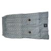 ZEEZ CABLE KNITTED SWEATER X-Large 45cm - Grey - Click for more info