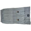 ZEEZ CABLE KNITTED SWEATER XX-Large 60cm - Grey - Click for more info