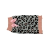 ZEEZ KNITTED SWEATER w/BOW Medium 32cm - Grey/Pink Leopard - Click for more info
