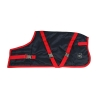 ZEEZ SUPREME DOG COAT Size 16 (41cm) Navy Stone/ Red - Click for more info