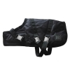 ZEEZ SUPREME DOG COAT Size 16 (41cm) Oilskin/ Black - Click for more info