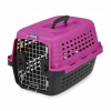 PETMATE COMPASS FASHION CARRIER PINK/BLK to 4.5kg - Click for more info