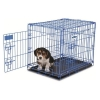 PETMATE PUPPY 2-DOOR TRAINING RETREAT BLUE 61x43x51cm - Click for more info