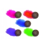COMPRESSED CATNIP BALL w/Feather 14cm - Click for more info