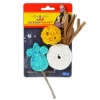 Jackson Galaxy - NATURAL PLAY TIME CAT TOY 3pk - Click for more info