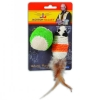 Jackson Galaxy - ROPE MOUSE w/BALL CAT TOY - Click for more info