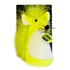Scream FATTY MOUSE CAT TOY Loud Green - Click for more info