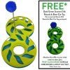 Scream ORB ROUND-A-BOUT Loud Green & Blue 45x24x8cm - Click for more info