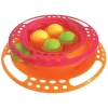 Scream SINGLE LAYER ORB TOWER CAT TOY 24x5.5cm Pink & Orange - Click for more info
