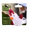 Play-N-Squeak HOLIDAY LIGHT-UP SNOWMAN CAT TOY - Click for more info