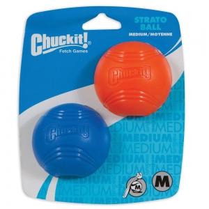 Chuckit! STRATO BALL MEDIUM 2pk - Click for more info