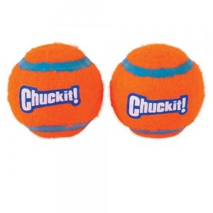 "Chuckit! TENNIS BALL - MEDIUM 2.5"" (6cm) Dia. 2pk - Click for more info"