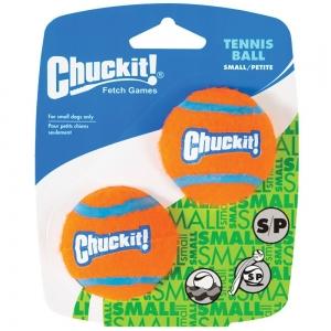 "Chuckit! TENNIS BALL - SMALL 2"" (5cm) Dia. 2pk - Click for more info"