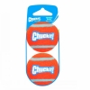 Chuckit! TENNIS BALL SMALL (5cm D) 2-Pk (Sleeve) - Click for more info