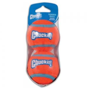 Chuckit! TENNIS BALL MEDIUM (6cm D) 2-Pk (Sleeve) - Click for more info