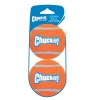Chuckit! TENNIS BALL LARGE (7cm D) 2-Pk (Sleeve) - Click for more info