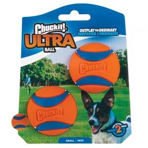 Chuckit! ULTRA BALL - SMALL (5cm) Diameter - 2pk - Click for more info