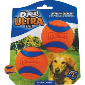 "Chuckit! ULTRA BALL - MEDIUM 2.5"" (6cm) Diameter - 2pk - Click for more info"