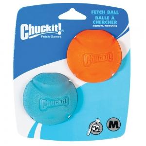 "Chuckit! FETCH BALL - MEDIUM 2.5"" (6cm) Diameter - 2pk - Click for more info"