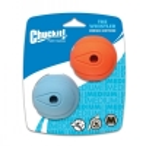 "Chuckit! WHISTLER BALL - MEDIUM 2.5"" (6cm) - 2pk - Click for more info"