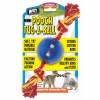 POOCH TUG-A-BALL w/ROPE - MINI (cm 34L x 6.5 Dia) - Click for more info