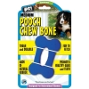 POOCH CHEW BONE DOG TOY - MEDIUM (cm 10L x 6W) - Click for more info