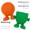 JW HALLOWEEN TOY CLIPSTRIP 1pk (9pcs) - Click for more info