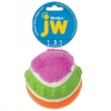 JW MIXUPS RIBBED BALL DOG TOY Large 10cm - Click for more info