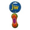 JW MIXUPS RIBBED BARBELL DOG TOY Small 10cm - Click for more info