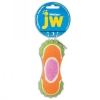 JW MIXUPS RIBBED BARBELL DOG TOY Medium 13cm - Click for more info