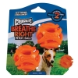 Chuckit! BREATHE RIGHT FETCH BALL SMALL 2pk - Click for more info