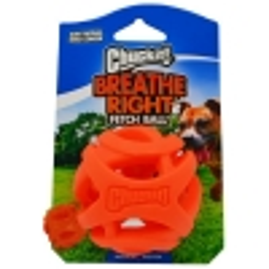 Chuckit! BREATHE RIGHT FETCH BALL MEDIUM 1pk - Click for more info