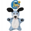 JW CRACKLE HEADS PLUSH DOG Medium - Click for more info