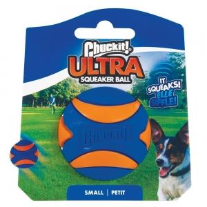 Chuckit! ULTRA SQUEAKER BALL - SMALL 1pk 5cm - Click for more info