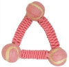 PRANA NYLON TOY For Small Breeds - 15cm PINK - Click for more info