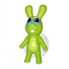 Chewbies Green Bunny - Vinyl Dog Toy - Click for more info