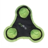Zingfling Trio - Small Green Dog Toy - Click for more info