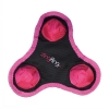 Zingfling Trio - Small Pink Dog Toy - Click for more info