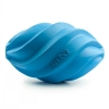 Skrubal Football - Large Blue Rubber Dog Toy - Click for more info