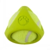 Tennisbal - Green Rubber Dog Toy - Click for more info