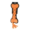 Scream CROSS ROPES TUG BONE 29cm Loud Orange - Click for more info